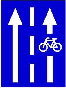 Nyitott kerékpársáv