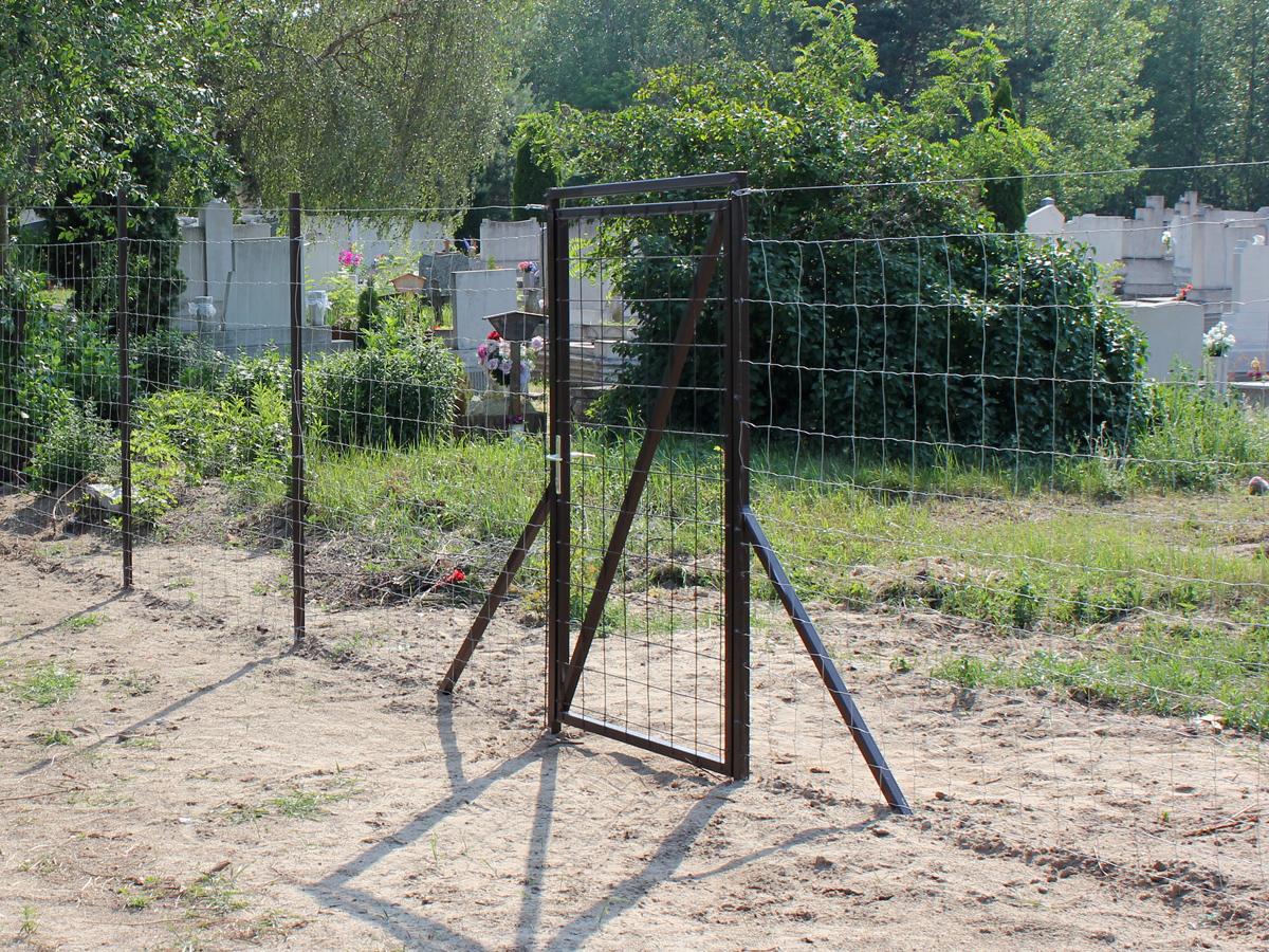 Elkészült a köztemető kerítése